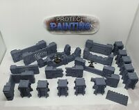 Star Wars Legion / Infinity - Scenery / Terrain - Ordus Walls & Gates Set