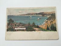 Bournemouth Canford Cliffs Hotel Canford Cliffs. Vintage Postcard Frank Richards