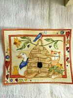 """Whimsical Kitty/Cat - ONE - Iron-On Patch - Applique. 5 3/8"""" x 6 7/8""""  New!"""