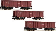 FLEISCHMANN N 828343 Set 3 Güterwagen Eas CD Epoche VI NEU OVP
