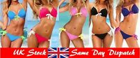 Women Ladies Bikini Push-Up Padded Bra Swimsuit Beach Swimwear Bathing Suit