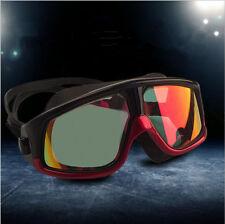 Big Frame Myopia Anti-fog Swimming Goggles Adult Adjustable Swim Glasses