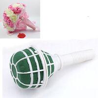 Portable DIY Bridal Handle Wedding Supply Flower Decoration Bouquet Foam Holder