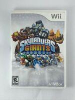 Skylanders Giants - Nintendo Wii Game - Tested