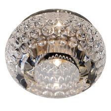 Lampadari da soffitto trasparente in acciaio