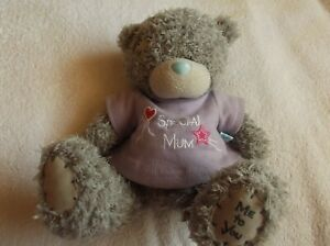"""Me To You """"SPECIAL MUM"""" Tatty Teddy with  Purple star & heart t-shirt!  - LOOK!"""