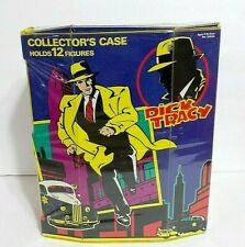 Vintage Disney Dick Tracy Collector's Case With 8 Playmates Action Figures