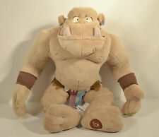 "18"" Troll Plush Stuffed Action Figure w/ Disney Store Exclusive Patch Enchanted"