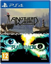Another World & Flashback Double Pack For PS4 (New & Sealed)