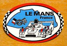 1970s Le Mans 24 hour Race Martini Porsche 936 Motorsport Sticker / Decal