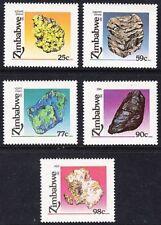 ZIMBABWE, 1993, MINERALS, SG 844-849, MNH SET