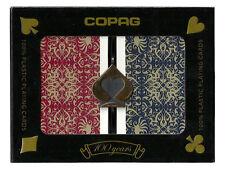 COPAG Plastic Playing Cards Script Bridge Jumbo Brand New
