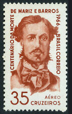 Brazil C111, MNH. Admiral Mariz e Barros, who died in the Battle of Itaperu,1966