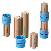 HABA Kullerbü Ergänzungsset Säulen Ergänzung für Kugelbahn Verbindungsstücke