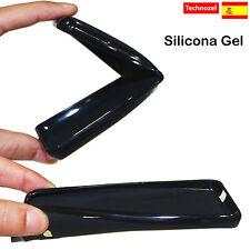 Silikon Schutz Hülle für Handy  ZTE Blade A510 TPU Gel Schwarz