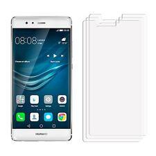 2 X Transparente LCD Ahorrador De Lámina Película Protectora De Pantalla Para Teléfono Móvil Huawei P9