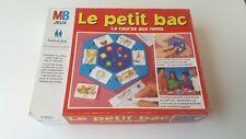 """(2) JEU DE SOCIETE """" LE PETIT BAC """"  LA COURSE AUX NOMS PAR MB DE 1996 COMPLET"""