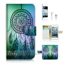 ( For iPod 5 / itouch 5 ) Flip Case Cover! Dream Catcher P0419