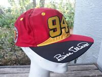 Vtg Bill Elliott McDonald's Team #94 NASCAR Racing Cap Hat Adjustable Kudzu