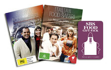 French & Italian Food Safari DVD - Limited Edition Apron Gift Pack - Region Free