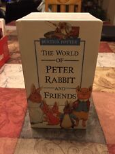 The World Of Peter Rabbit And Friends Vhs Box Set