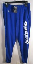 NWT Nike Seattle Seahawks Mens Standard Fit Sideline Pants XL Royal MSRP$80