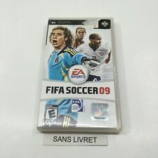 FIFA Soccer 09 Playstation Portable PSP Game Disc & Case