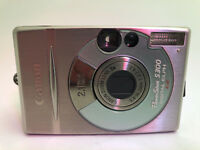 Canon PowerShot Digital ELPH S300 / Digital IXUS 300 2.0MP Digital Camera - Meta