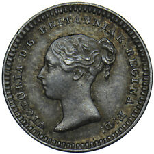 More details for 1843 threehalfpence (43 over 34) - victoria british silver coin - very nice