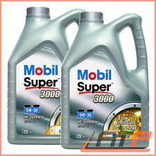 2x 5 L = 10 LITER MOBIL SUPER™ 3000 XE 5W-30 MOTOR-ÖL MOTOREN-ÖL 32276183