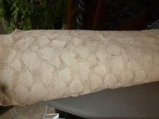 vintage dentelle coton mécanique pour rideaux  dessus lit 1m50 x 6m70  ref 8080