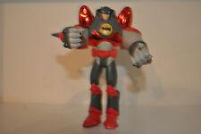 """2004 D.C. Batman Chrome Red Mech Jet Power suit Action Figure 5"""" D.C. Comics"""