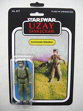 Retro Star Wars Rebel COMMANDO Uzay savascilari Custom Bootleg MOC