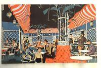 Disneyland 1955 Postcard Concept Art Ice Cream Parlor Main Street NEW Unused