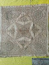 Antique Handmade Turkish Table Cloth Above 100 Years Old