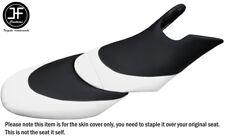 BLACK WHITE CUSTOM FOR SEADOO 02-06 GTX DI 4-TEC FRONT + REAR VINYL SEAT COVERS