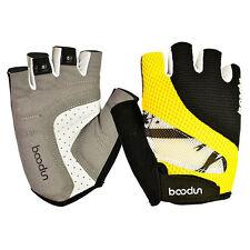 Man Womens Sports Cycling Gloves Half Finger Mesh Bike Glove Breathable S-XL
