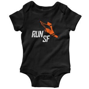Run San Francisco V3 One Piece - Baby Infant Creeper Romper NB-24M - Running Jog
