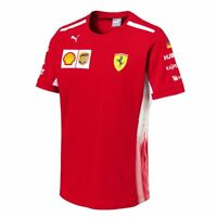 PUMA Scuderia FERRARI F1 Sebastian VETTEL T Shirt Tee Formel 1 lizenziertes Prod
