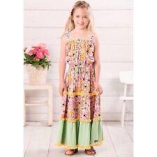 Tell Me More Maxi Dress Matilda Jane Girls Size 4 Adventure Begins Floral / Cute
