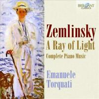 ZEMLINSKY: A RAY OF LIGHT - COMPLETE PIANO MUSIC NEW CD