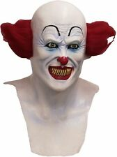NEW Ghoulish Stephen King IT Scary Clown DELUXE ADULT LATEX PENNYWISE MASK