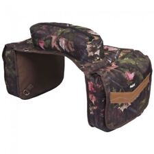 Tough-1 Elite Insulated Saddle Bag Tough Timber Fun Print Horse Tack