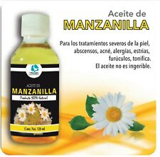 ACEITE D MANZANILLA CHAMOMILE OIL,MASSAGE AROMATHERAPY,MASAGE AROMATERAPIA RELAX