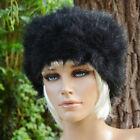 Chapka bonnet chapeau Femme fausse fourrure Noir DARINA ZAZA2CATS new