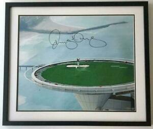 """RORY McIlroy Autographed """"Tee Shot From The Tower"""" Framed Photograph UDA"""