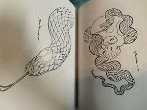 Drawn To Scale Snake Snakes Tattoo Reference Book Japanese Art Flash