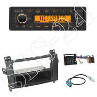 Continental TR7412UB-OR Radio + Mercedes Viano/Vito A/B Kl Blende black +ISO Set