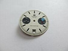 Cadran Montre Tissot Navigator Date  - 1970s - Valjoux 7734