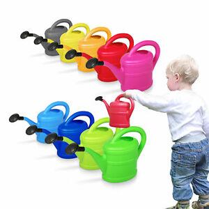 Blechgießkanne Gießkanne für Kinder aus Metall Kindergießkanne
